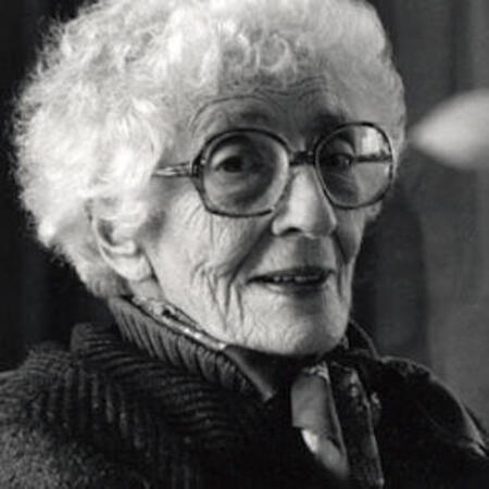 May Sarton Portrait