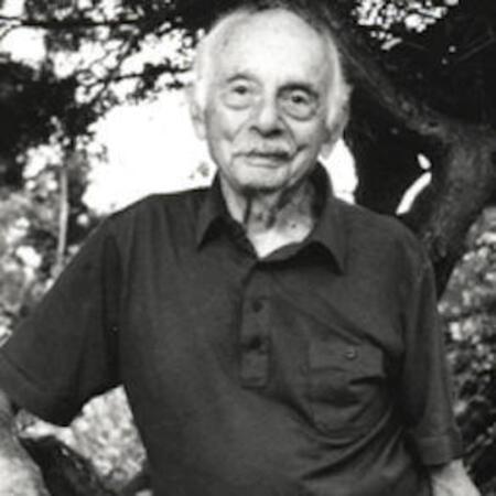 Stanley Kunitz Portrait