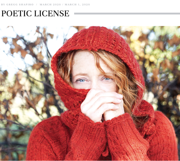 POETIC LICENSE: Singer/songwriter Patty Larkin has some anniversaries to celebrate.